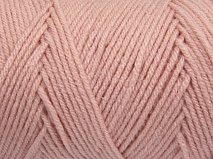 Items made with this yarn are machine washable & dryable. Fiber Content 100% Dralon Acrylic, Powder Pink, Brand ICE, Yarn Thickness 4 Medium  Worsted, Afghan, Aran, fnt2-47191