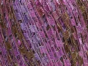 Trellis  Fiber Content 95% Polyester, 5% Lurex, Orchid, Lilac, Brand ICE, Camel, Yarn Thickness 5 Bulky  Chunky, Craft, Rug, fnt2-47230