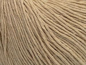 Fiber Content 100% Cotton, Brand ICE, Beige, Yarn Thickness 1 SuperFine  Sock, Fingering, Baby, fnt2-47514