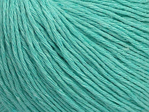 Fiber Content 100% Cotton, Mint Green, Brand ICE, Yarn Thickness 1 SuperFine  Sock, Fingering, Baby, fnt2-47523