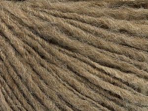 Fiber Content 60% Acrylic, 40% Wool, Brand ICE, Camel, Yarn Thickness 3 Light  DK, Light, Worsted, fnt2-48748