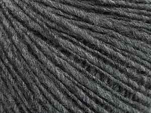 Fiber Content 60% Acrylic, 40% Wool, Brand ICE, Grey, Yarn Thickness 3 Light  DK, Light, Worsted, fnt2-48754
