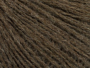 Fiber Content 60% Acrylic, 40% Wool, Brand ICE, Brown, Yarn Thickness 2 Fine  Sport, Baby, fnt2-48954