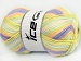 Baby Wool Design Yellow White Mint Green Lilac