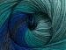 Merino Batik Navy Green Shades Blue Shades