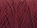 Macrame Cotton Bulky Burgundy