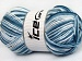 Natural Cotton Color Worsted Blue Shades