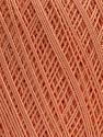 Ne: 10/3 Nm: 17/3 Fiber Content 100% Mercerised Cotton, Light Salmon, Brand ICE, Yarn Thickness 1 SuperFine  Sock, Fingering, Baby, fnt2-49563