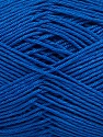 Ne: 8/4. Nm 14/4 Fiber Content 100% Mercerised Cotton, Brand ICE, Blue, Yarn Thickness 2 Fine  Sport, Baby, fnt2-49604