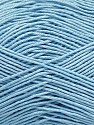 Ne: 8/4. Nm 14/4 Fiber Content 100% Mercerised Cotton, Light Blue, Brand ICE, Yarn Thickness 2 Fine  Sport, Baby, fnt2-49605