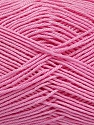 Ne: 8/4. Nm 14/4 Fiber Content 100% Mercerised Cotton, Pink, Brand ICE, Yarn Thickness 2 Fine  Sport, Baby, fnt2-49607