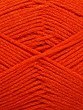 Fiber Content 100% Cotton, Orange, Brand ICE, Yarn Thickness 2 Fine  Sport, Baby, fnt2-50097