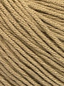 Fiber Content 60% Bamboo, 40% Cotton, Light Camel, Brand ICE, Yarn Thickness 3 Light  DK, Light, Worsted, fnt2-50536