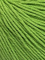 Fiber Content 60% Cotton, 40% Acrylic, Brand ICE, Green, Yarn Thickness 2 Fine  Sport, Baby, fnt2-51224