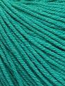 Fiber Content 60% Cotton, 40% Acrylic, Brand ICE, Emerald Green, Yarn Thickness 2 Fine  Sport, Baby, fnt2-51225