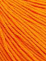 Fiber Content 60% Cotton, 40% Acrylic, Orange, Brand ICE, Yarn Thickness 2 Fine  Sport, Baby, fnt2-51230