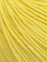 Fiber Content 60% Cotton, 40% Acrylic, Light Yellow, Brand ICE, Yarn Thickness 2 Fine  Sport, Baby, fnt2-51232
