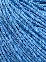 Fiber Content 60% Cotton, 40% Acrylic, Light Blue, Brand ICE, Yarn Thickness 2 Fine  Sport, Baby, fnt2-51236
