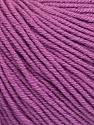 Fiber Content 60% Cotton, 40% Acrylic, Lavender, Brand ICE, Yarn Thickness 2 Fine  Sport, Baby, fnt2-51242