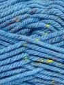 Fiber Content 72% Acrylic, 3% Viscose, 25% Wool, Light Blue, Brand ICE, Yarn Thickness 6 SuperBulky  Bulky, Roving, fnt2-51359