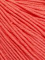Fiber Content 60% Cotton, 40% Acrylic, Salmon, Brand ICE, Yarn Thickness 2 Fine  Sport, Baby, fnt2-51561