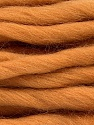 Fiber Content 100% Superwash Wool, Light Brown, Brand ICE, Yarn Thickness 6 SuperBulky  Bulky, Roving, fnt2-51674