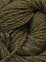 Fiber Content 45% Alpaca, 30% Polyamide, 25% Wool, Brand ICE, Dark Khaki, Yarn Thickness 3 Light  DK, Light, Worsted, fnt2-51733
