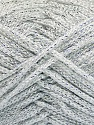 Width is 3 mm Fiber Content 100% Polyester, Silver, Brand ICE, fnt2-51849