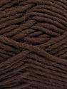 Fiber Content 100% Wool, Brand ICE, Dark Brown, Yarn Thickness 5 Bulky  Chunky, Craft, Rug, fnt2-51914