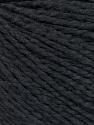 Fiber Content 68% Cotton, 32% Silk, Brand Ice Yarns, Black, Yarn Thickness 2 Fine  Sport, Baby, fnt2-51923