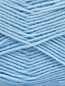 Fiber Content 100% Baby Acrylic, Brand ICE, Baby Blue, Yarn Thickness 2 Fine  Sport, Baby, fnt2-52124