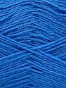 Fiber Content 60% Merino Wool, 40% Acrylic, Brand ICE, Blue, Yarn Thickness 2 Fine  Sport, Baby, fnt2-52353