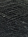 Fiber Content 70% Acrylic, 30% Wool, Brand ICE, Anthracite Black, Yarn Thickness 4 Medium  Worsted, Afghan, Aran, fnt2-52602