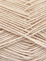 Fiber Content 70% Acrylic, 30% Wool, Powder Pink, Brand ICE, Yarn Thickness 4 Medium  Worsted, Afghan, Aran, fnt2-52619