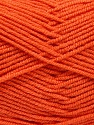 Fiber Content 50% Acrylic, 50% Bamboo, Brand ICE, Dark Orange, Yarn Thickness 2 Fine  Sport, Baby, fnt2-53094