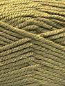 Fiber Content 100% Acrylic, Light Khaki, Brand ICE, Yarn Thickness 5 Bulky  Chunky, Craft, Rug, fnt2-53179