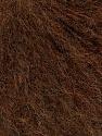 Fiber Content 29% Alpaca Superfine, 28% Merino Wool, 21% Polyamide, 20% Acrylic, 2% Elastan, Brand ICE, Dark Brown, Yarn Thickness 2 Fine  Sport, Baby, fnt2-53449