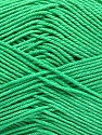 Ne: 8/4. Nm 14/4 Fiber Content 100% Mercerised Cotton, Brand ICE, Emerald Green, Yarn Thickness 2 Fine  Sport, Baby, fnt2-54055