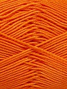 Ne: 8/4. Nm 14/4 Fiber Content 100% Mercerised Cotton, Orange, Brand ICE, Yarn Thickness 2 Fine  Sport, Baby, fnt2-54056