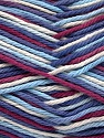 Fiber Content 100% Cotton, White, Maroon, Lilac, Brand ICE, Blue Shades, Yarn Thickness 3 Light  DK, Light, Worsted, fnt2-54354