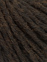 Fiber Content 55% Acrylic, 45% Wool, Brand ICE, Dark Brown, Yarn Thickness 5 Bulky  Chunky, Craft, Rug, fnt2-54376