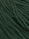 Fiber Content 50% Acrylic, 50% Cotton, Brand ICE, Dark Green, Yarn Thickness 3 Light  DK, Light, Worsted, fnt2-54667