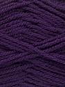 Worsted  Fiber Content 100% Acrylic, Purple, Brand ICE, Yarn Thickness 4 Medium  Worsted, Afghan, Aran, fnt2-54670