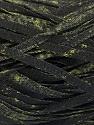 Fiber Content 82% Viscose, 18% Polyester, Brand ICE, Dark Green, Black, Yarn Thickness 5 Bulky  Chunky, Craft, Rug, fnt2-55005