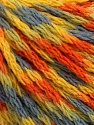 Fiber Content 60% Acrylic, 40% Wool, Yellow, Orange, Light Blue, Brand ICE, Green, Yarn Thickness 3 Light  DK, Light, Worsted, fnt2-55527