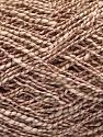 Fiber Content 62% Cotton, 23% Viscose, 15% Polyamide, Rose Brown, Brand ICE, Cream, Yarn Thickness 2 Fine  Sport, Baby, fnt2-56159