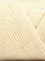 Fiber Content 50% Wool, 50% Acrylic, Brand ICE, Cream, Yarn Thickness 3 Light  DK, Light, Worsted, fnt2-56424