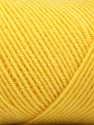 Fiber Content 50% Wool, 50% Acrylic, Yellow, Brand ICE, Yarn Thickness 3 Light  DK, Light, Worsted, fnt2-56439