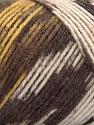 Fiber Content 50% Wool, 50% Acrylic, Yellow, Brand ICE, Cream, Brown Shades, Yarn Thickness 3 Light  DK, Light, Worsted, fnt2-56448