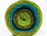Fiber Content 100% Acrylic, Turquoise, Teal, Brand ICE, Green Shades, Camel, Yarn Thickness 4 Medium  Worsted, Afghan, Aran, fnt2-56551